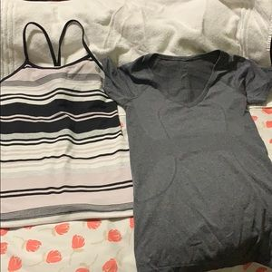 Bundle of two lululemon shirts